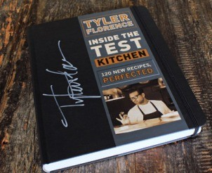 Hand Signed Copy of Test Kitchen