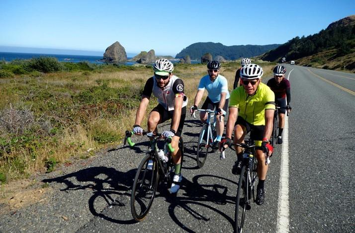 862 Mile Cycling Adventure from Portland to San Francisco: In SF, California