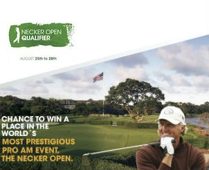 Entry to Sir Richard Bransons Necker Open Qualifier Golf Tournament