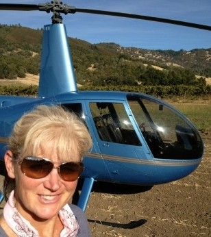 Helicopter Tour & Cult Napa Wine Tasting