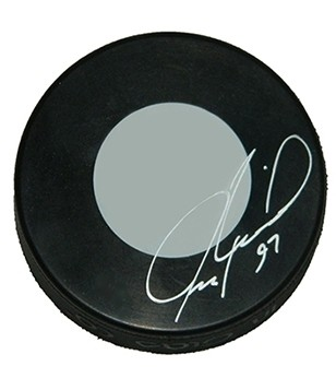 Personalized and Hand Signed NHL Puck