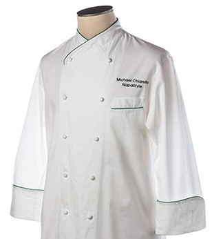 Hand Signed Chef Jacket