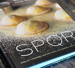Personalized & Signed SPQR Cookbook