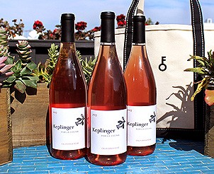 An Incomparable Rose from the Trifecta of Wine Production