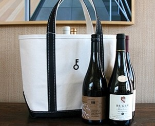 Fathers Day Wine Tote