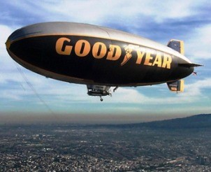 Ride on the Goodyear Blimp