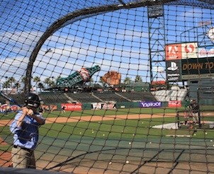 Take Batting Practice at ATT Park