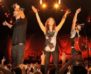 Lady Antebellum Private Show at the iHeartRadio Theater