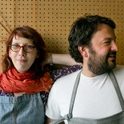 Stuart Brioza and Nicole Krasinski - James Beard Shop