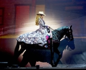 Shania Twains Saloon Outfit from her Vegas Show