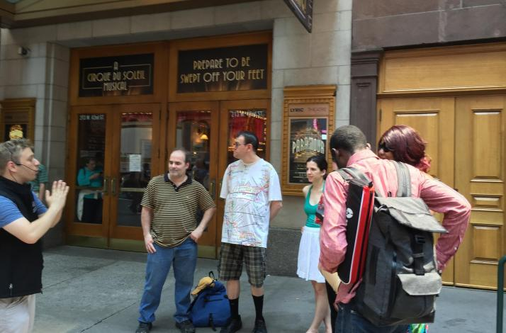 Broadway Musical Theatre Walking Tour Extravaganza Act 3: In New York, New York