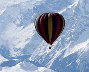 Balloon Expedition over Mt Everest