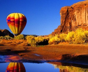 Balloon Flight over The Grand Canyon from Chris Dewhirst