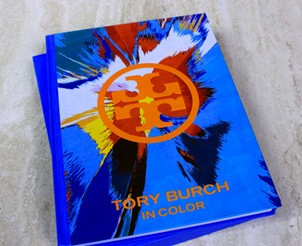Hand Signed Special Edition of Tory Burch In Color