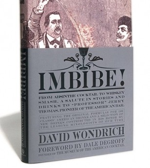 Signed & Personalized Copy of Imbibe!