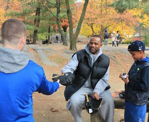 Ultimate Scavenger Hunt in Central Park and Pitching Clinic with CC Sabathia