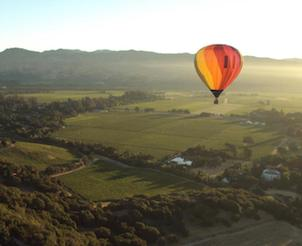 Private Ballooning Over the Napa Valley for Two