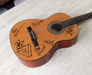 Acoustic Guitar Signed by Bob Weir and RatDog