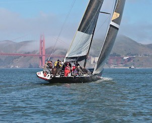 Americas Cup Sailing Challenge for Corporate Team Building