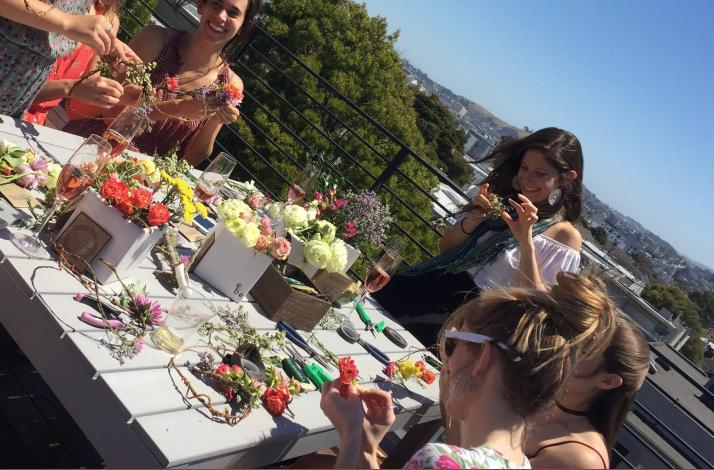 Flower Arranging to Cure a Broken Heart: In SF, California