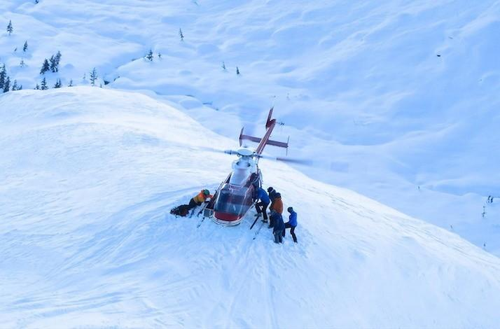 Valemount Heli-Skiing Trip in British Columbia: In British Columbia, Canada